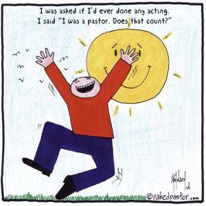 pastor-acting
